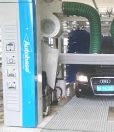 Automatische tunnel car wash apparatuur met spinnen car wash borstel